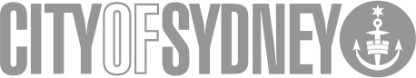Logo city of sydney grey