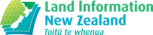 Logo land information nz