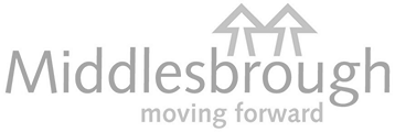 Logo middlesbrough council grey