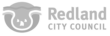 Logo redland city council logo grey